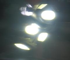Белый свет габаритов