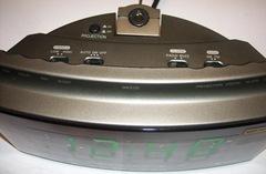 проекционные радиочасы