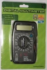 цифровой мультиметр dt 831