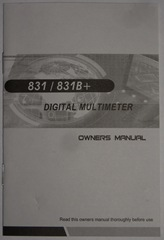 цифровой автомобильный мультиметр