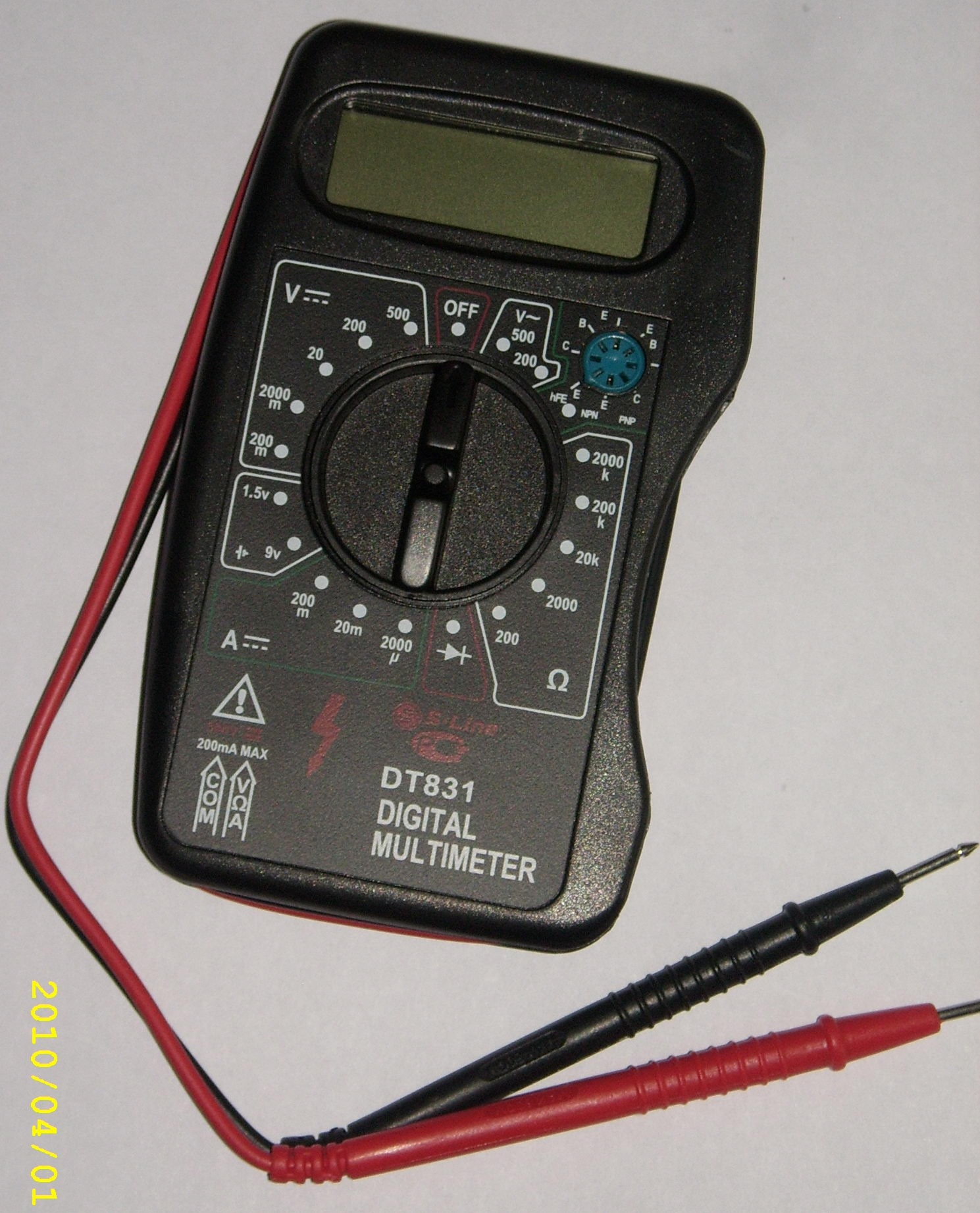 Canadian tire ohm meter